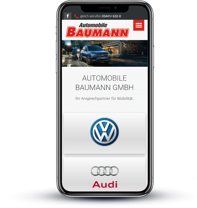 Automobile Baumann Responsive Design