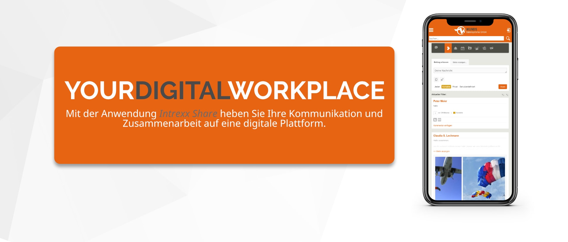 YOUR DIGITAL WORKPLACE